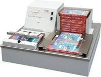 Sistema Packaging de DVD, encelofanadora
