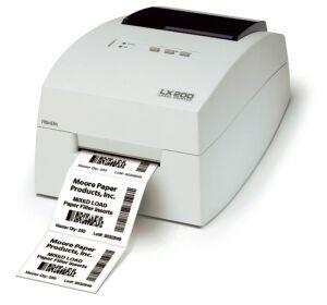 Impresora de etiquetas monocromática LX200 de Primera