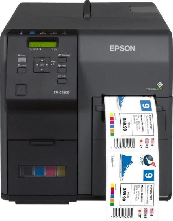 Impresora de etiquetas ColorWorks C7500